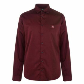 Boss My Pop 2 Shirt - Burgundy 604