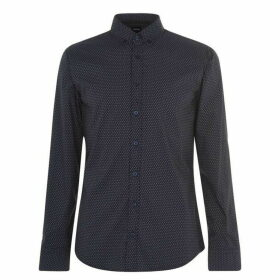 Boss Mabsoot AOP Shirt - Navy 404