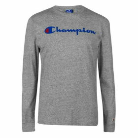 Champion Long Sleeve Tee - Grey