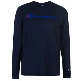 Champion Long Sleeve Tee - Navy