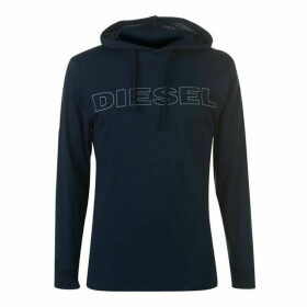 Diesel Jimmy Long Sleeve T Shirt - Navy/Blue 89D