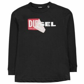 Diesel Tedri Long Sleeve T Shirt - Black