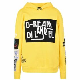 Diesel Sjackwa Hooded Sweatshirt - White
