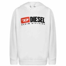 Diesel Division Hoodie - White K100