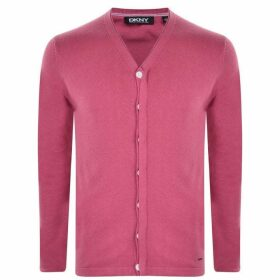DKNY Knitted Cardigan - Dry Rose