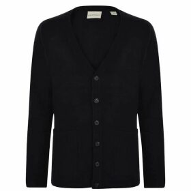 DKNY Pocket Cardigan - Black