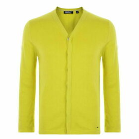 DKNY Knitted Cardigan - Yellow