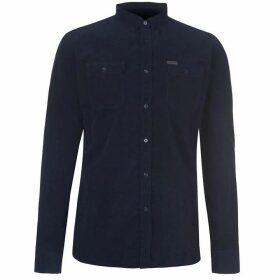 Firetrap Corduroy Shirt - Navy
