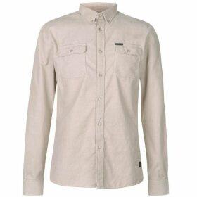 Firetrap Corduroy Shirt - Stone