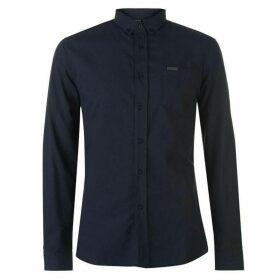 Firetrap Basic Oxford Shirt - Navy