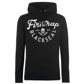 Firetrap Blackseal XL Graphic Hoodie - Black