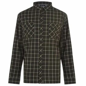 Firetrap Blackseal Sabotage Shirt Mens - Black/Grey