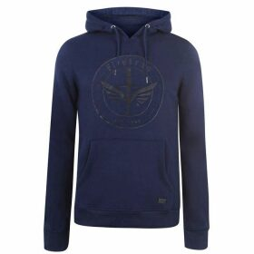 Firetrap Graphic OTH Hoodie - Blue