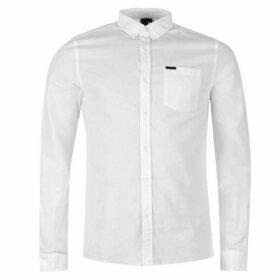 Firetrap Basic Oxford Shirt - White