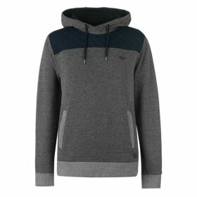 Firetrap Marly OTH Hoodie Mens - Charcoal/Navy