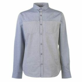 Firetrap Cut and Sew Shirt Mens - Grey/Blue