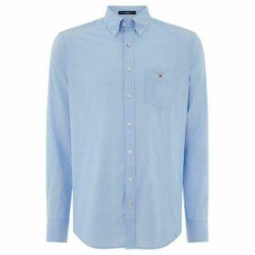 Gant Broadcloth Shirt - Pale Blue