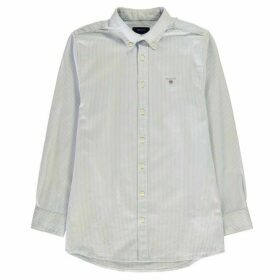 Gant Archive Oxford Shirt - Capri Blue Strp
