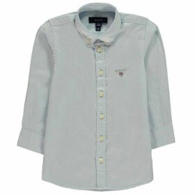 Gant Oxford Shirt - Capri Blue 468