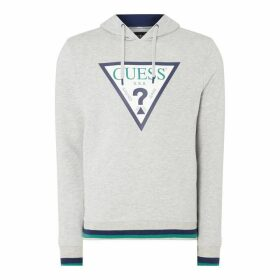 Guess Triangle Logo Hoodie - None