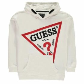Guess Oversized Hoody - True White TWHT