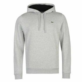 Lacoste Over The Head Basic Hoodie - Grey