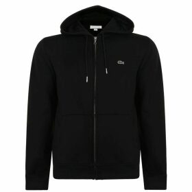 Lacoste Hooded Sweatshirt - Black