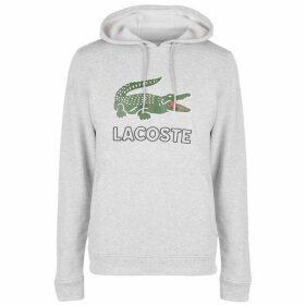 Lacoste Logo Hoodie - Grey