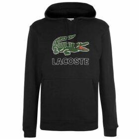 Lacoste Logo Hoodie - Black
