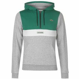 Lacoste Zip Hoodie - Green/Grey