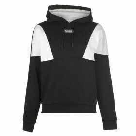 Lacoste OTH Diamond Panel Hoodie - Black