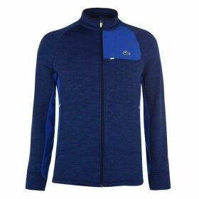 Lacoste Sport Zip Golf Sweatshirt Mens - Blue