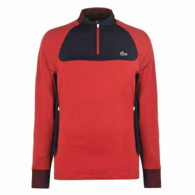 Lacoste Sport Golf Sweatshirt Mens - Red
