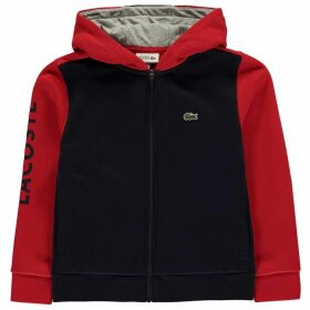 Lacoste Hoodie - Navy/Red