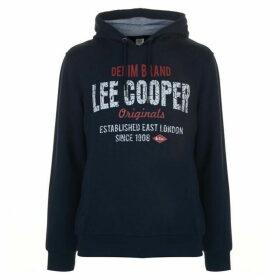 Lee Cooper OTH Logo Hoody Mens