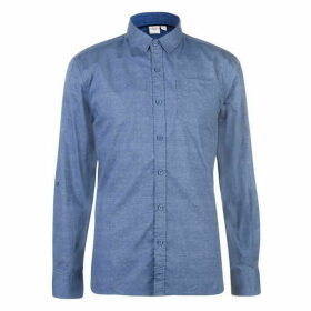 Lee Cooper Long Sleeve AOP Shirt Mens - Blue