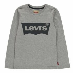 Levis Long Sleeve Batwing T Shirt - Grey 306