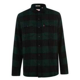 Levis Jackson Long Sleeve Shirt - Pine Grove