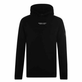 Marshall Artist Siren Over The Head Hoodie - Black
