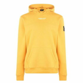 Marshall Artist Siren Over The Head Hoodie - Yellow
