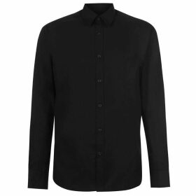 Pierre Cardin Long Sleeve Shirt Mens - Black