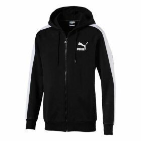 Puma T7 Logo Zipped Hoodie - Puma Black