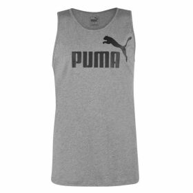 Puma No1 Sleeveless T Shirt Mens - Grey