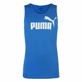 Puma No1 Sleeveless T Shirt Mens - Royal Blue