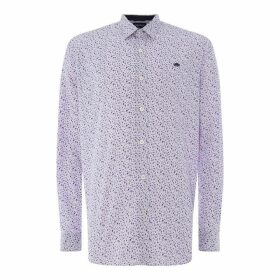 Raging Bull Raging Long Sleeve Ditzy Print Shirt Mens - Pastel Purple96