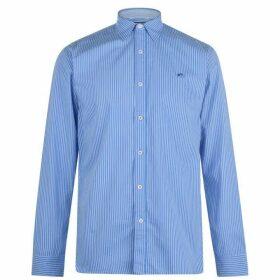 Raging Bull Pinstripe Shirt - Sky Blue64