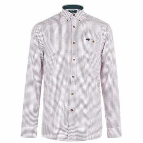 Raging Bull Brushed Shirt - Claret186