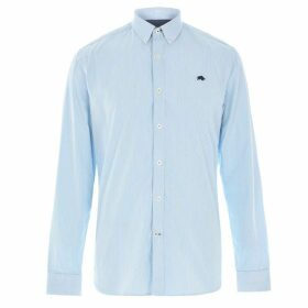 Raging Bull Raging Long Sleeve Candy Stripe Shirt - Sea Blue250