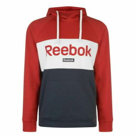 Reebok Big Logo OTH Hoodie Mens - Rebel Red