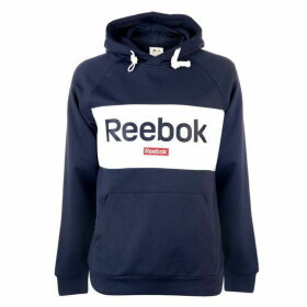 Reebok Big Logo OTH Hoodie Mens - Heritage Navy
